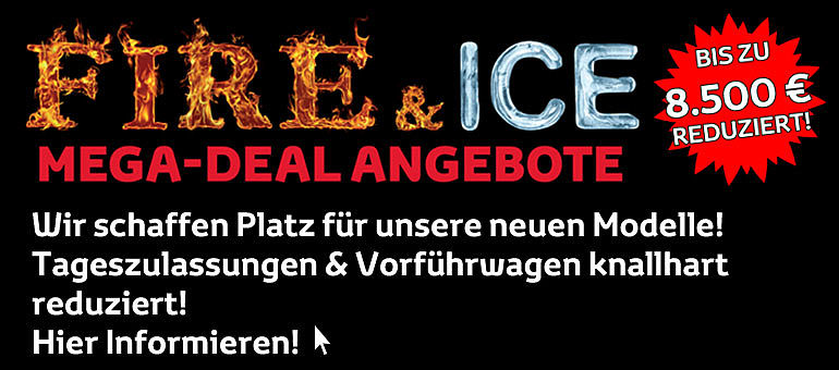 TOYOTA Tageszulassung Fire&Ice Mega Deal Angebote