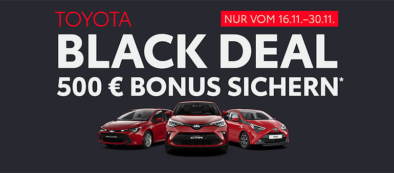 Toyota Neuwagen Black Deal