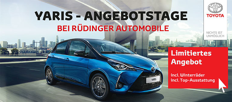 Toyota Yaris Aktion Angebot